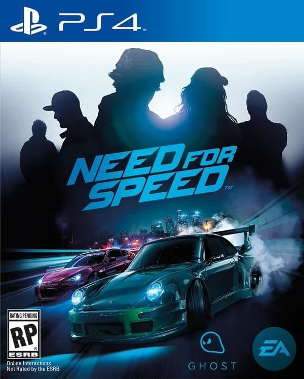 Need for Speed 2015 (PS4, русская версия)