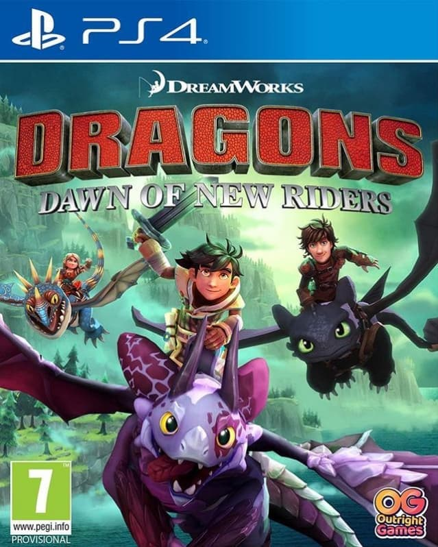 Dragons Dawn of New Riders (PS4, англ.версия) от  MegaStore.kg