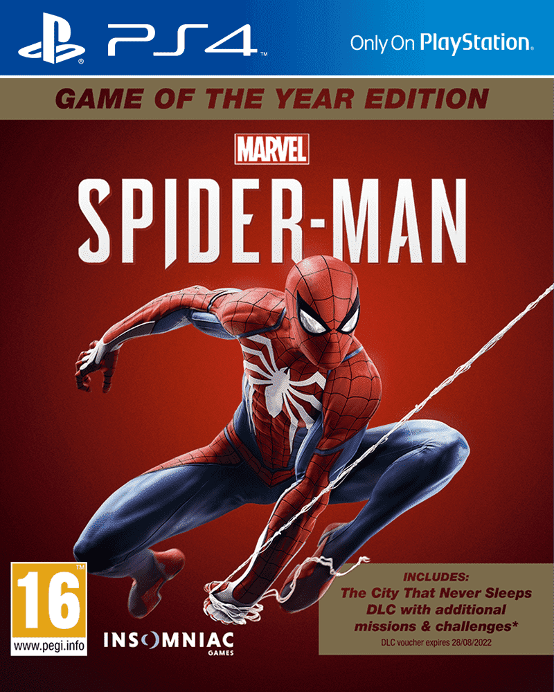 Marvel's Spider-Man (Человек Паук)  Game of the Year Edition (PS4, русская версия)