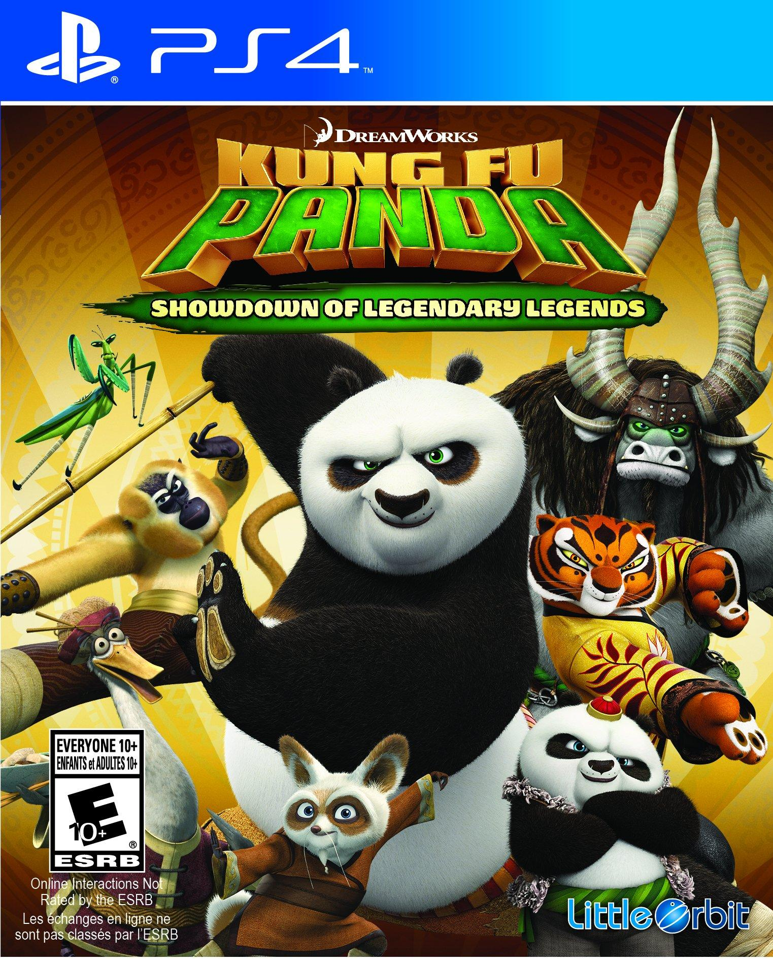 Kung Fu Panda: Showdown of Legendary Legends (PS4, англ.версия)