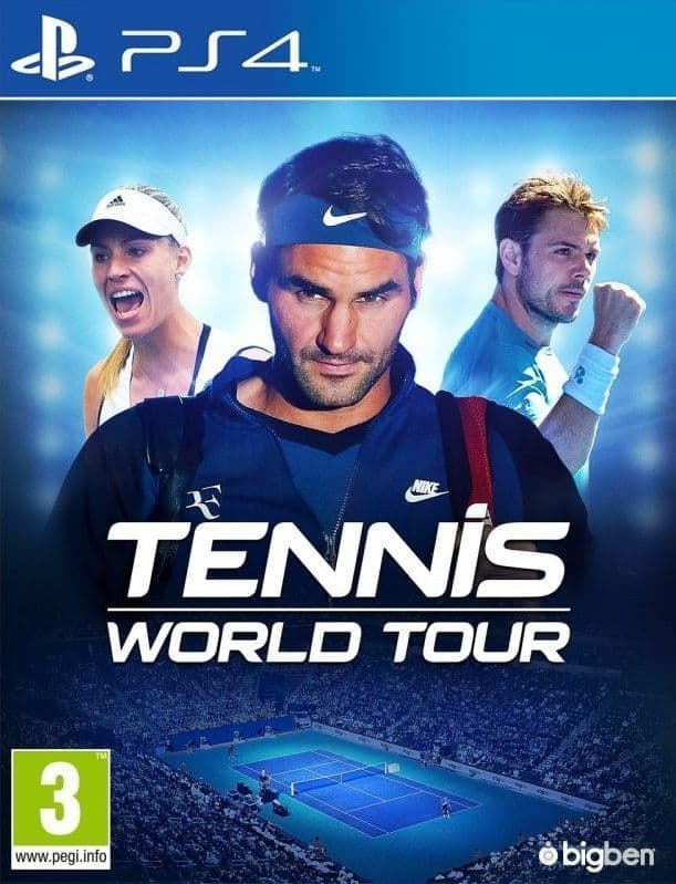 Tennis World Tour (PS4, рус.титры)