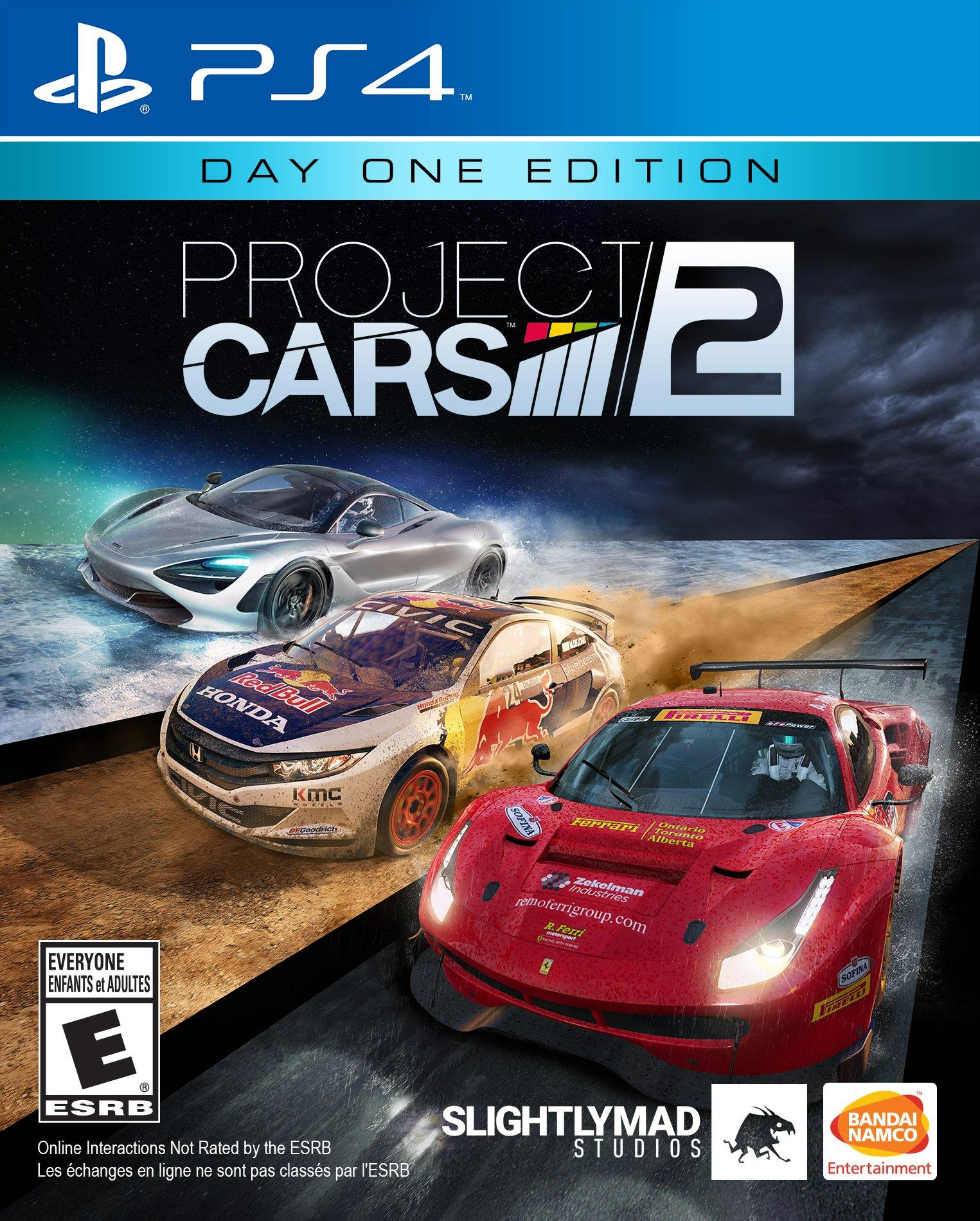 Project CARS 2 (PS4, русская версия) БУ