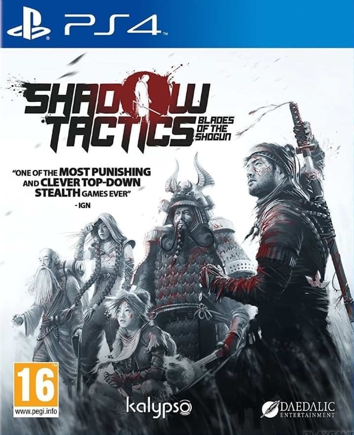 Shadow Tactics: Blades of the Shogun (PS4, русская версия) от  MegaStore.kg