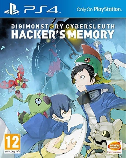 Digimon Story: Cyber Sleuth - Hacker's Memory (PS4, англ.версия) БУ