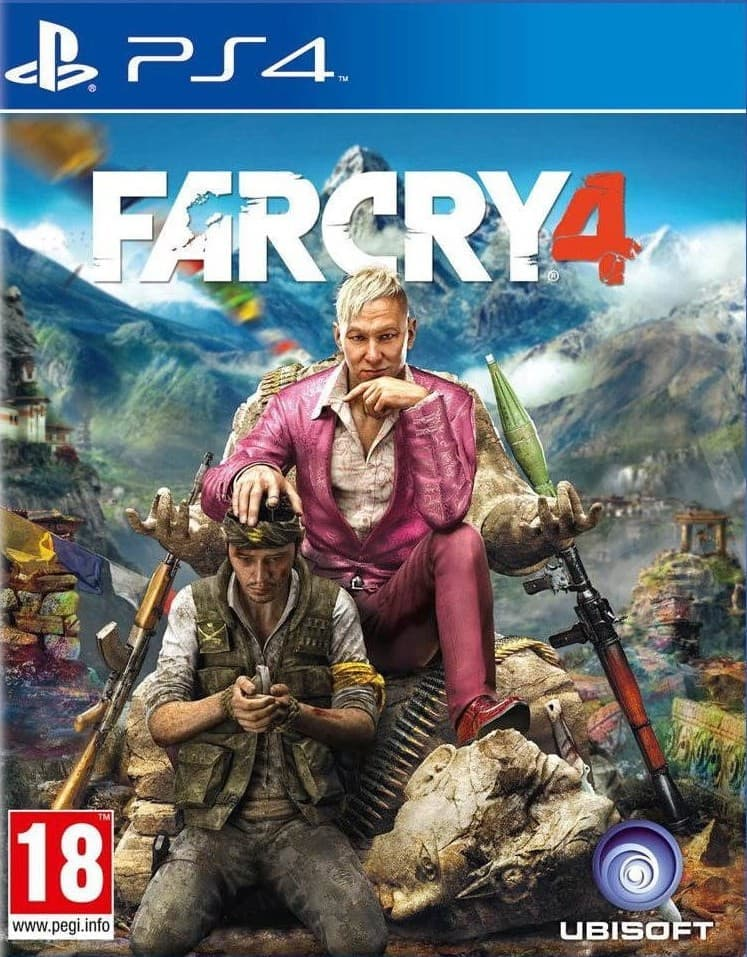 Far Cry 4 (PS4, русская версия)