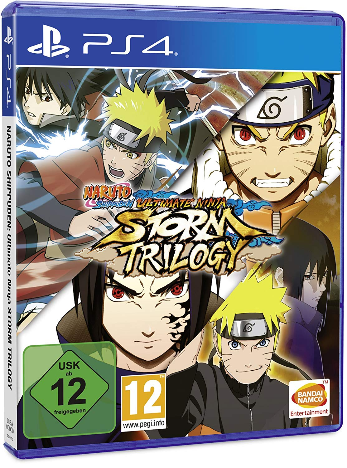 Naruto Shippuden: Ultimate Ninja Storm Trilogy (PS4, рус.титры)