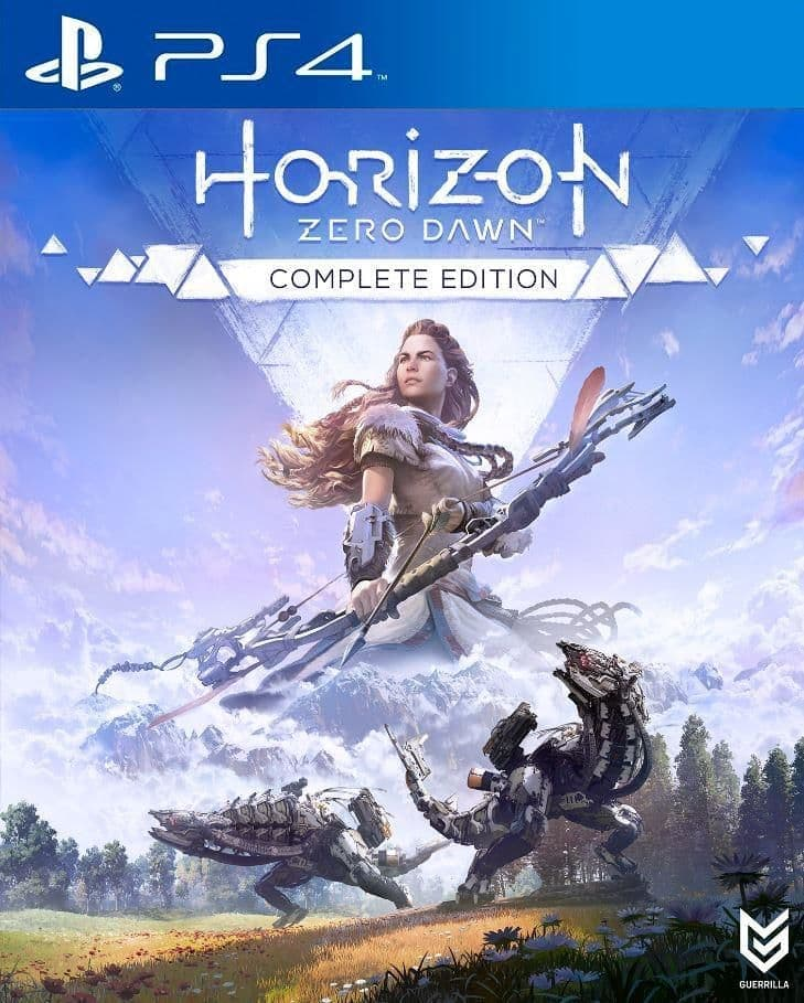 Horizon: Zero Dawn Complete Edition (PS4, русская версия) БУ