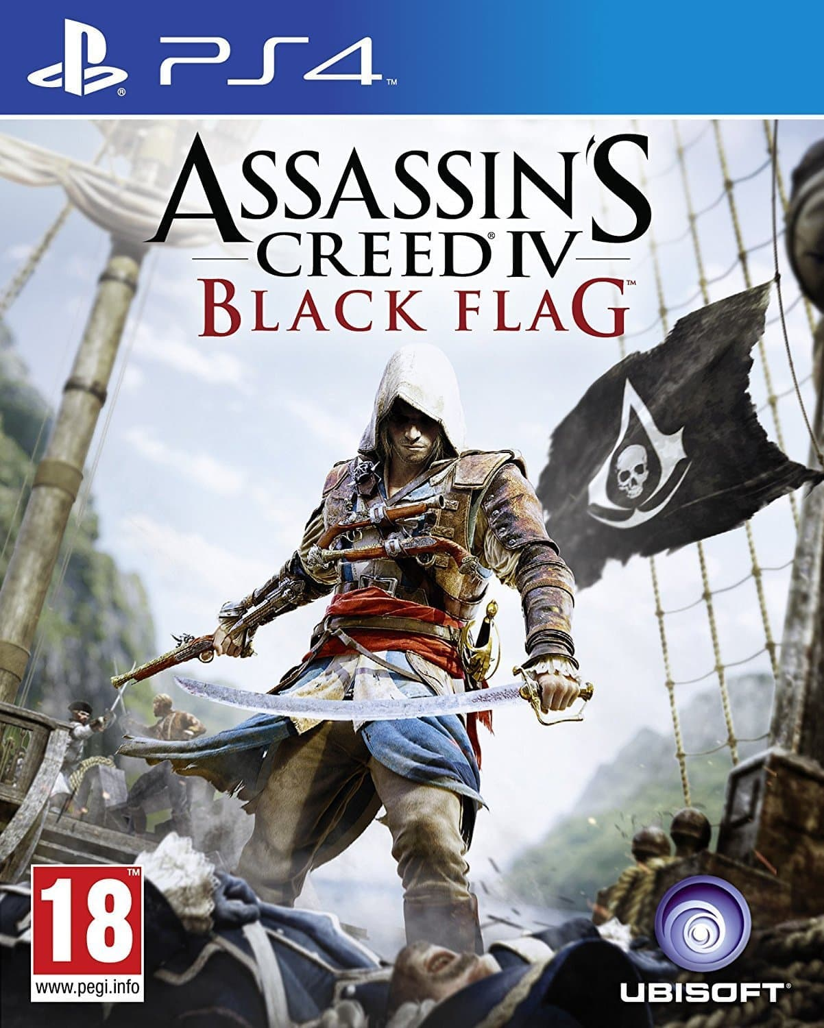 Assassin's Creed IV: Чёрный флаг (PS4, русская версия)
