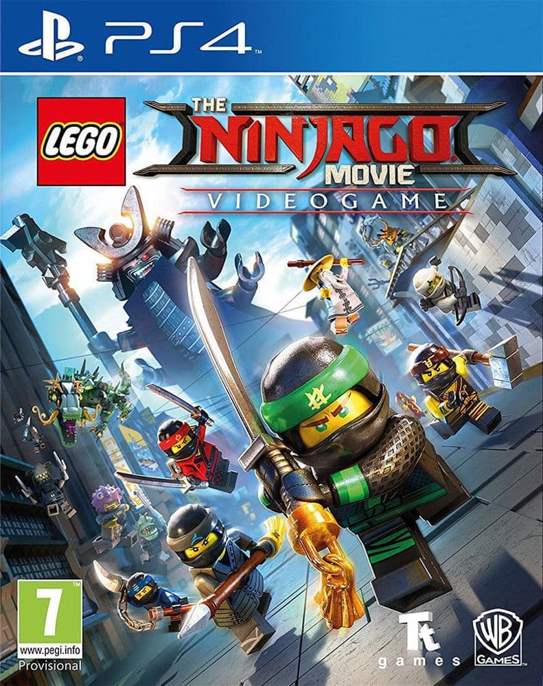 LEGO Ninjago Movie Game (PS4, рус.титры)