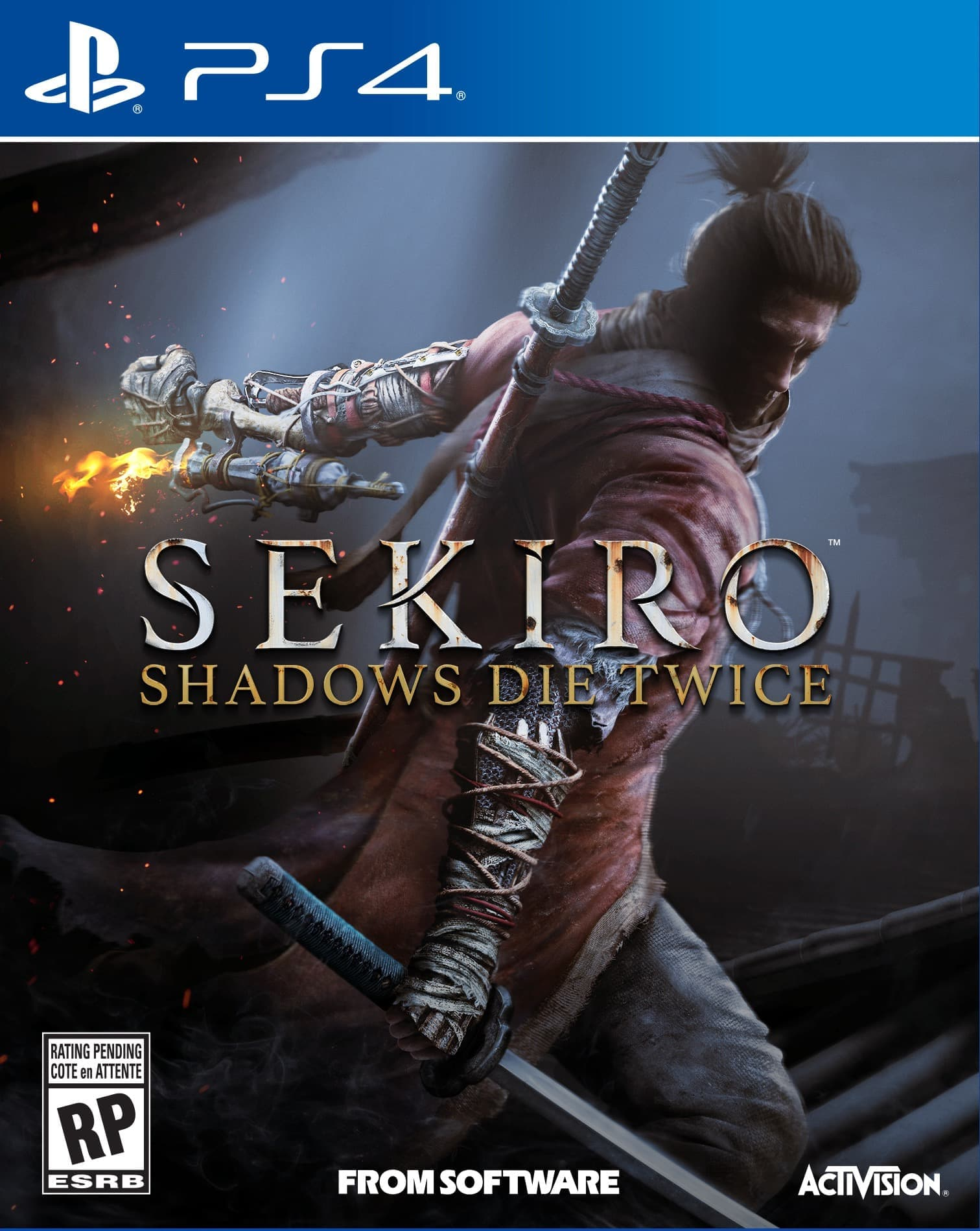 Sekiro: Shadows Die Twice (PS4, рус.титры)