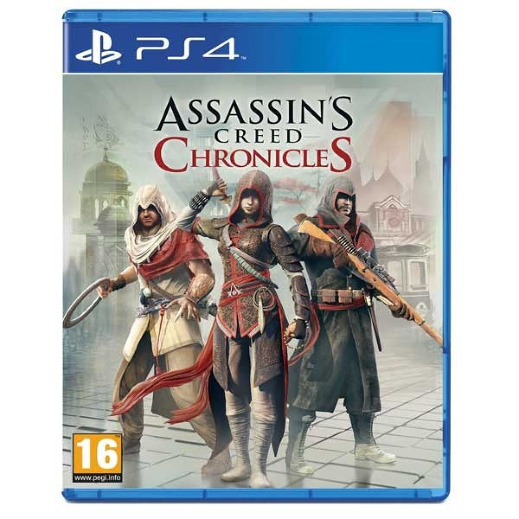 Assassin's Creed Chronicles (PS4, русская версия) БУ