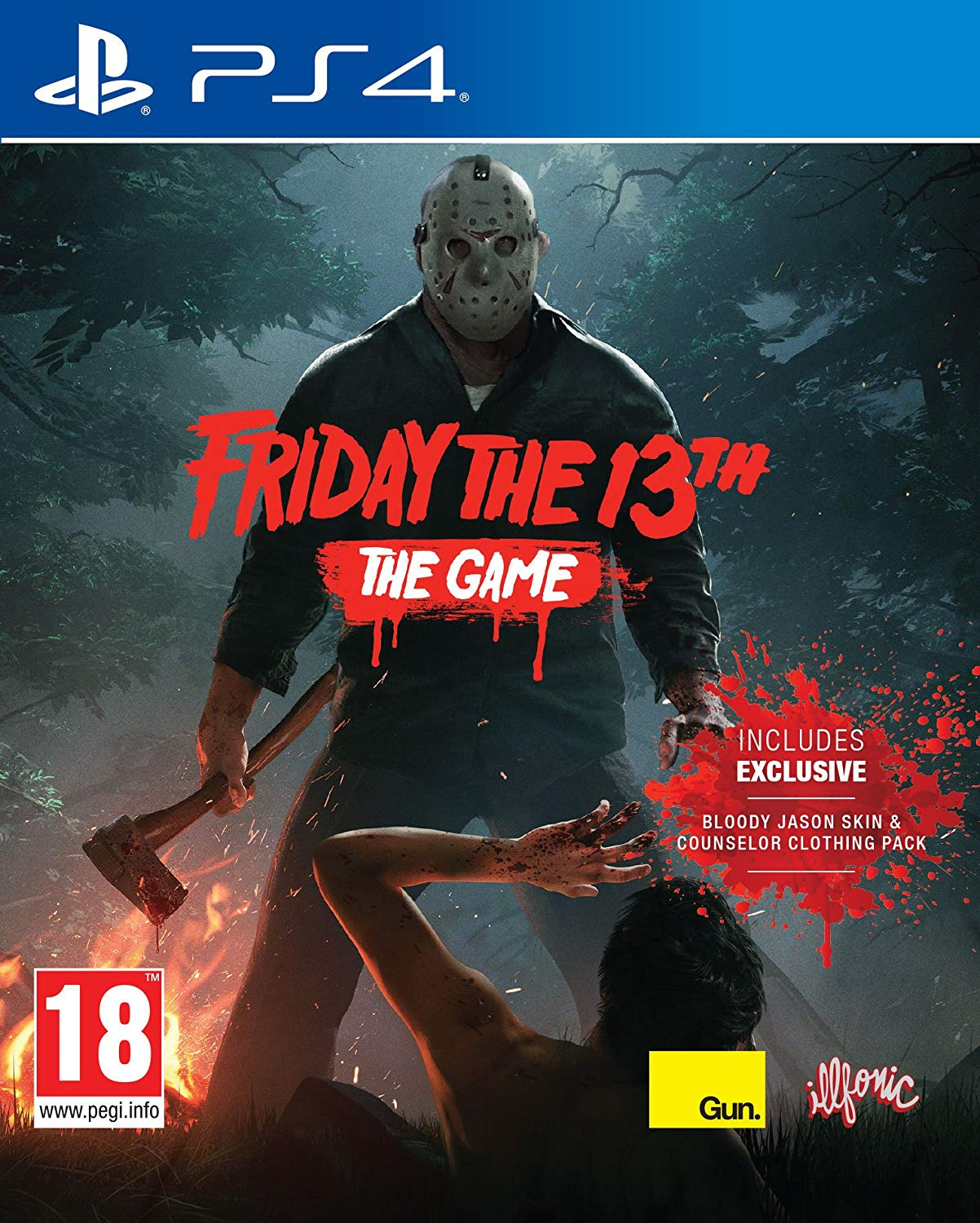 Friday the 13th: The Game (PS4, англ.версия)