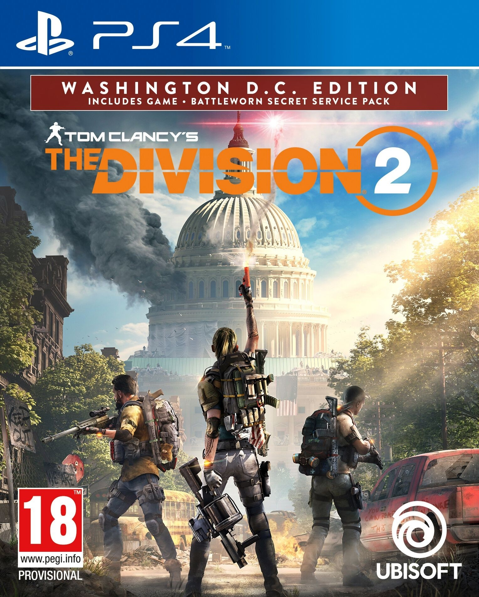 Tom Clancy's The Division 2 Washington D.C. Edition (PS4, русская версия)