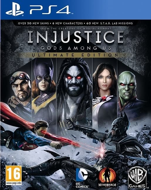 Injustice: Gods Among Us Ultimate Edition (PS4, русская версия) БУ