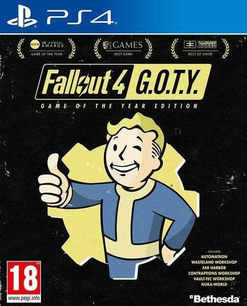 Fallout 4 Game of the Year Edition (PS4, рус.титры) от  MegaStore.kg
