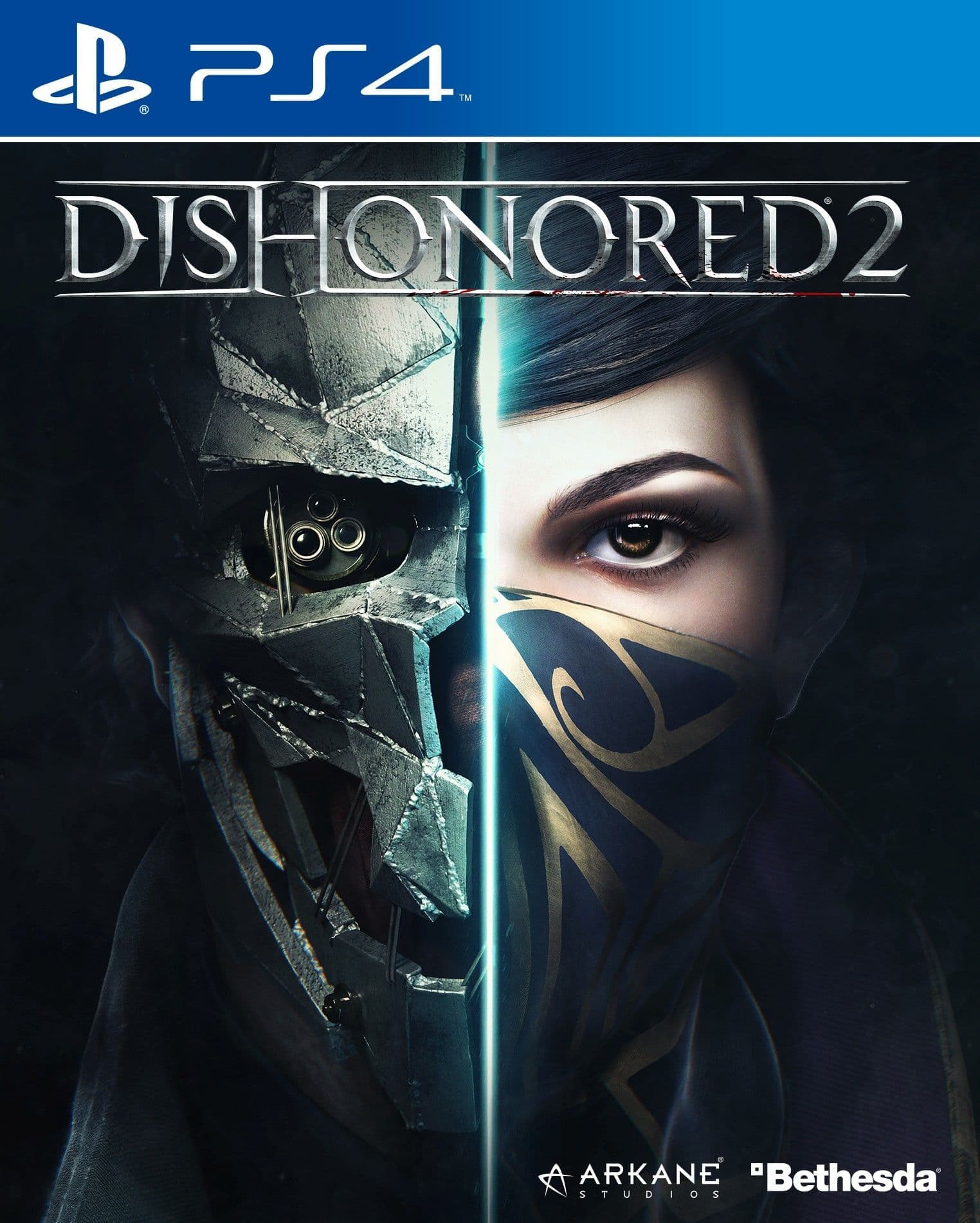 Dishonored 2 (PS4, русская версия)