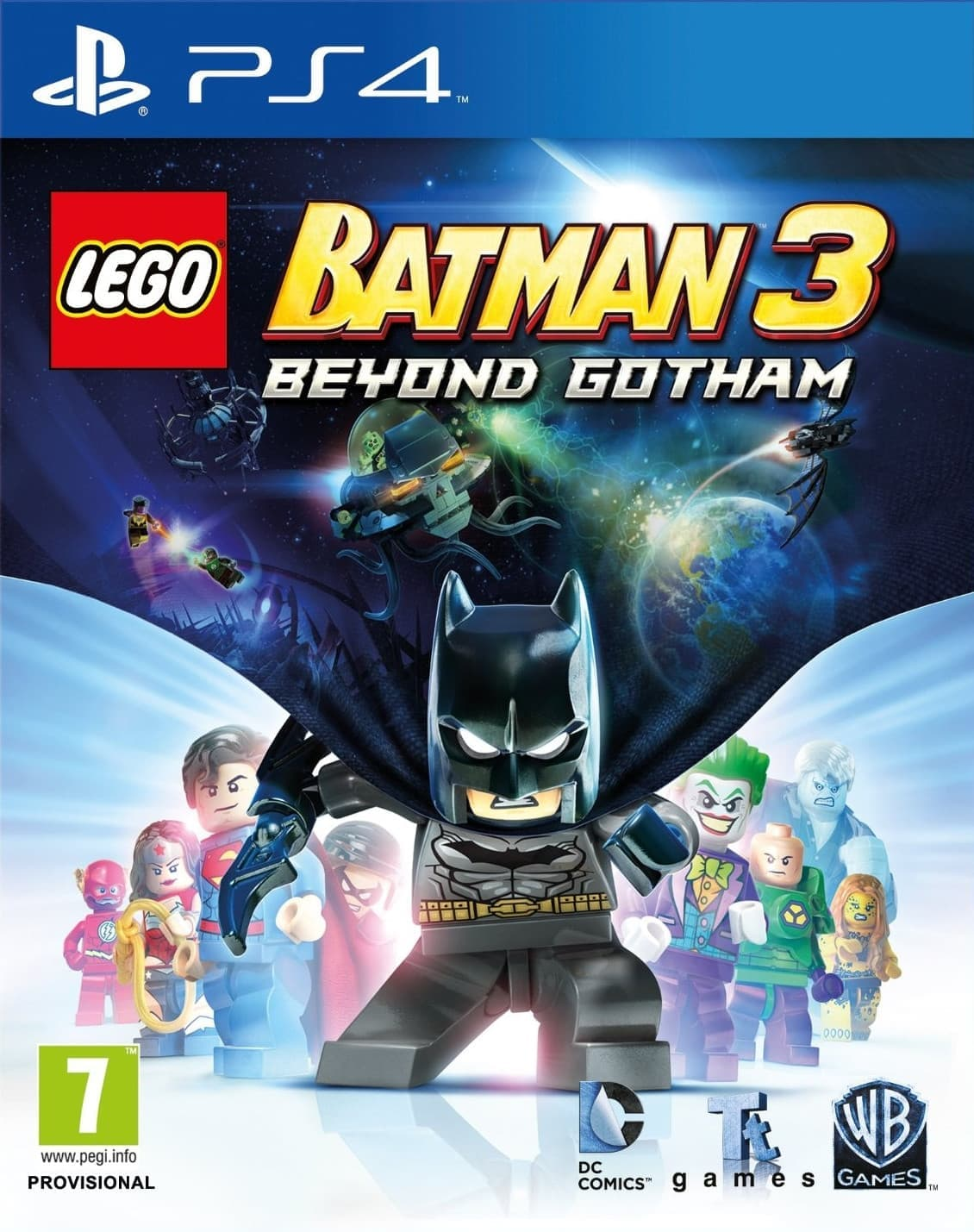 LEGO Batman 3: Beyond Gotham (PS4, англ.версия)