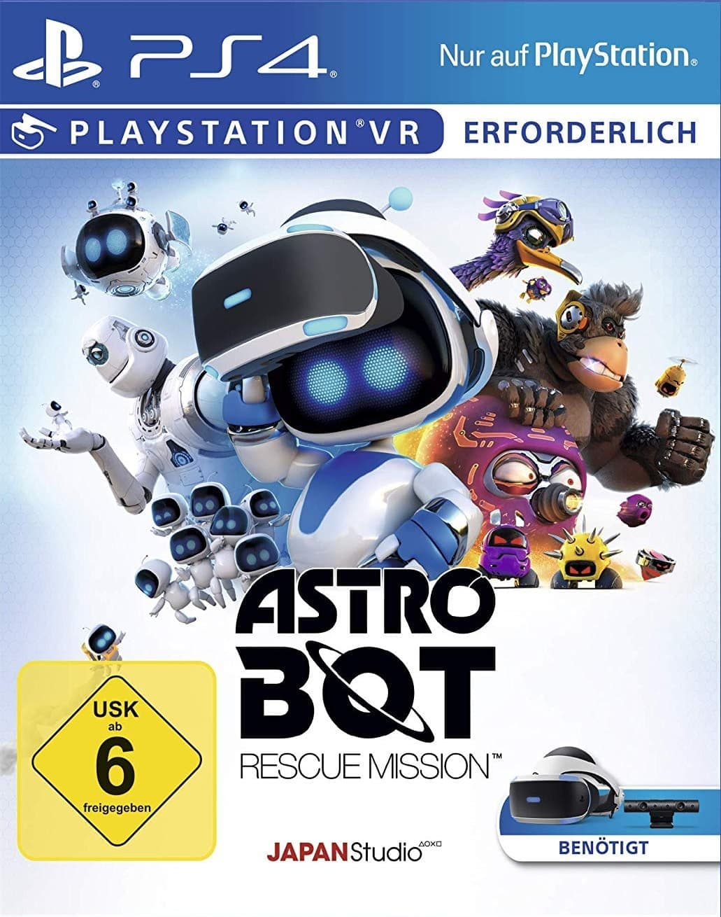 Astro Bot Rescue Mission (PS4, русская версия)